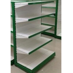 MS Single Sided Powder Coated Supermarket Rack