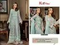 Khayyira Suits Maryam Gold Georgette Pakistani Suit