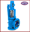 Hyper Angle Type Flange End Safety Relief Valve