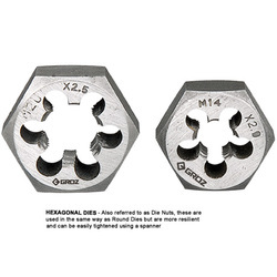 Hexagonal Dies - Carbon Steel