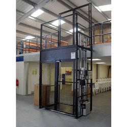 Electric Warehouse Goods Lift