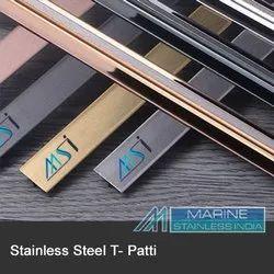 Stainless Steel Brass Inlay T Patti