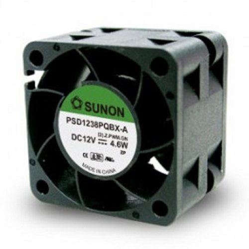 "5 X Sanyo Denki 40 mm Fine Ace 20-8 CFM 5 Blade 12 V Fan 6/"" Cable"