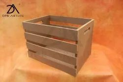 Brown MDF Crates, For Home Decor & Reselling, Size: 10