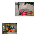 Hydraulic Hand Pallet Truck for Mechanical Workshops