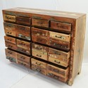 Reclaimed Chest Of 10 Drawers Sideboard