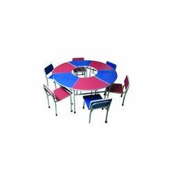 With Powder Coating Preschool Furniture