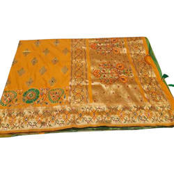Party Wear Indian Handwork Saree, 5.5 m (separate blouse piece)