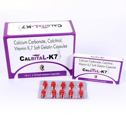 Allopathic Pharma PCD For Calbital- K7, Investment Range: <1 Lakh, Distribution Preferred: Single Party Distribution