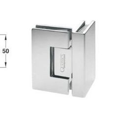 SS 90 Degree Glass to Glass Hinge