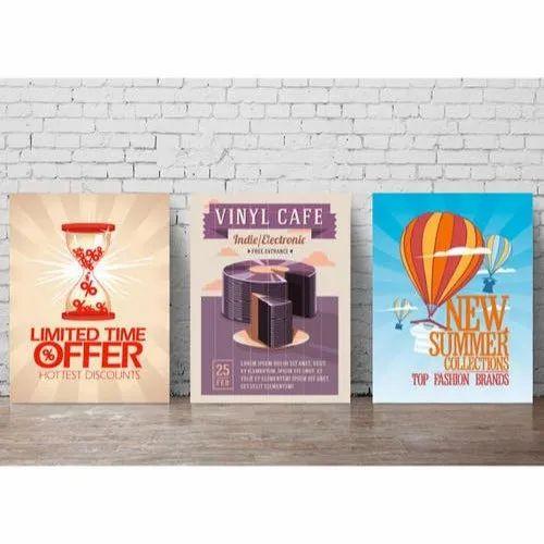 Wall Poster Printing Service