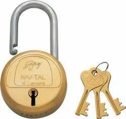 Godrej 6 Lever Lock With 3 Key