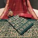 Bandhej Pure Cotton Dress Material