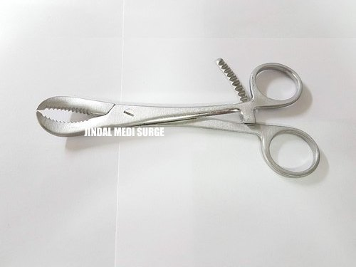 Reduction Forceps Serrated Ratchet Lock Orthopedic Instrument