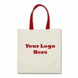 White Loop Handle Century Cotton Bag, Size: 10x12
