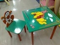 kids table with four chair