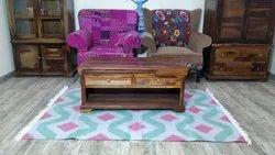 Cotton Handloom Dhurrie Carpet Unique Cotton Handwoven Floor Rug