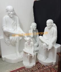 White Marble Shirdi Sai Baba Statues