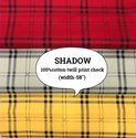 Shadow 100% Cotton Shirting Fabric