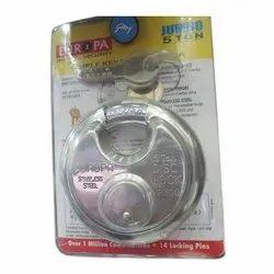 Godrej Stainless Steel Disc Door Lock