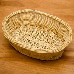Bamboo Jali Oval Basket
