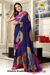 SR Present Silka Printed Silk Concept Saree
