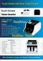 RealMax True 8888 Touch Screen Mix Note Value Counting Machine
