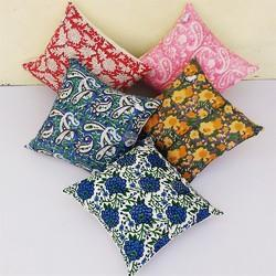 Hand Block Print Cushion Cover