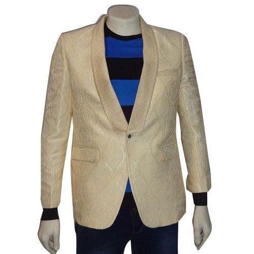 35d19aba9 Small Cream Color Men  s Blazer