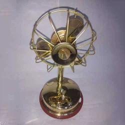 Brass Decorative Fan