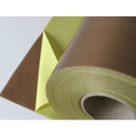 Brown Mica Coated Fiberglass Fabric