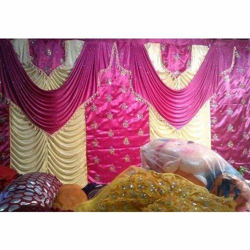 Colored Wedding Curtain Shaadi Ke Parde Tent Curtains श द