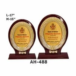 AH - 488 Wooden Award