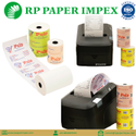 Till Paper Rolls, Thermal, 80 Mm x 80 Mm Customized, High Quality