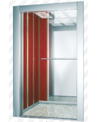 Elevator Parts - SS Hairline Finish Lift Cabin Manufacturer from Pune