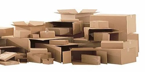 Cardboard Brown Corrugated Box, for Packaging