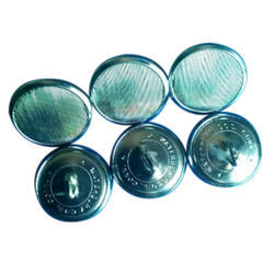 Waterbury Silver Button