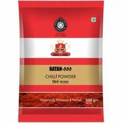 Ratan 555 Chilli Powder, Packaging Size: 500 gm