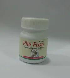 Herbasia Pile Fuse Capsule, Packaging Size: 10 Capsule, Packaging Type: Plastic Bottle