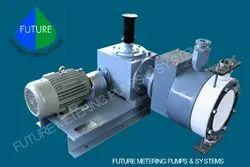Hydraulic Double Diaphragm Pump
