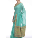Ladies Chanderi Designer Saree