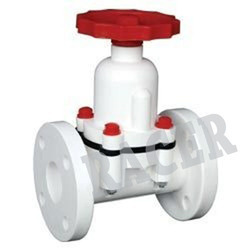 Flange End Cast Iron Diaphragm Valve