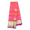 Silk Handloom Saree, Construction Type: Hand