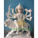 Marble Durga Statue