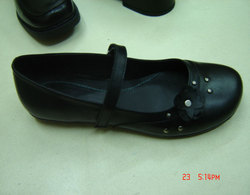 Women's Modern Shoes Leatherette Oxford Low Heel Customizable Dance Shoes Black