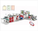 Heavy Duty High Speed Handle Bag Making Machine