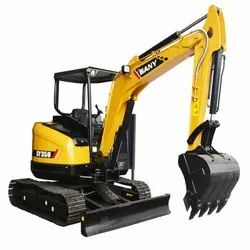 Sany SY35U 3.8 Ton Mini Excavator, Maximum Bucket Capacity: 0.12 Cum