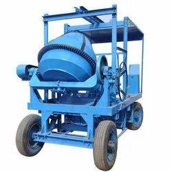 Concrete Mixer With Four Channel Lift Machine