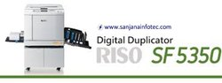 Riso Digital Duplicators SF 5350 Machine Service, Repair