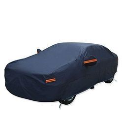 Polyester Blue Car Cover